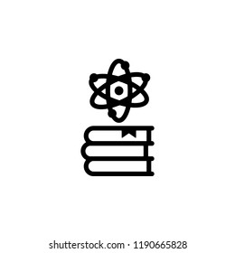 book, science icon. Element of genetics and bioengineering icon. Premium quality graphic design icon. Signs and symbols collection icon for websites, web design, mobile app