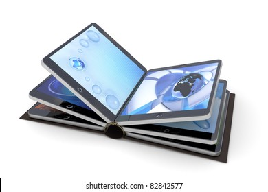 Book from tablet PC