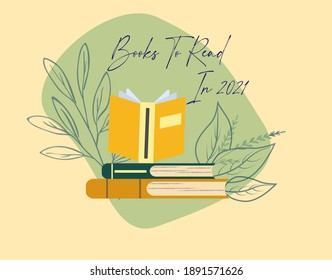 Books To Read in 2021 illustration
