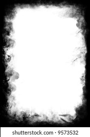 Border from smoke