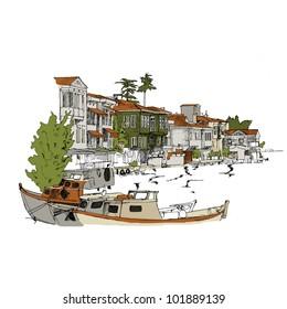 Bosphorus scene