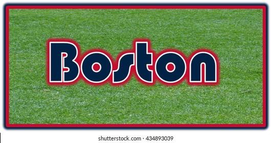 Boston Word Clip Art