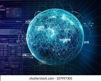 Botstorm and world wide Computer Virus determination Concept.