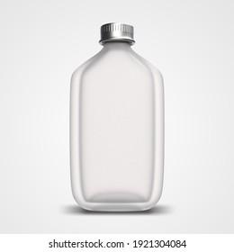 Bottle 3d rendering mockup design