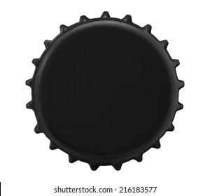 bottle cap isolated on white background