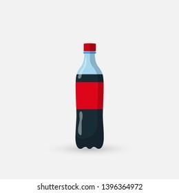 bottle icon illustration isolated on white background