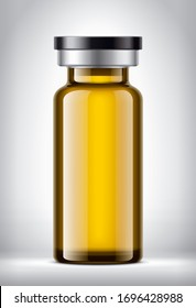 Bottle on background. 3d rendering