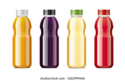 Bottles for juice and soda