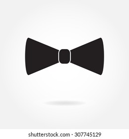Bow tie icon or sign.