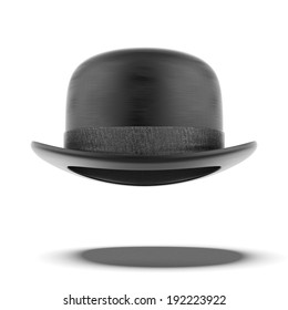 bowler hat  isolated on a white background