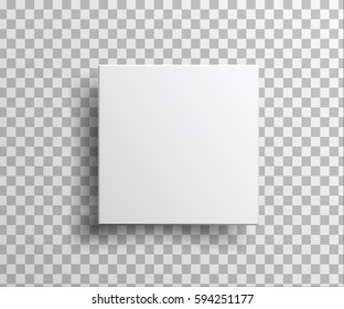 box isolated on transparent background . for your design and logo.  illustration