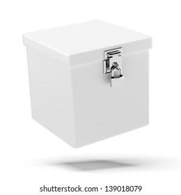 box with lock