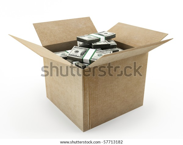 Box with money