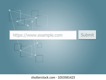 Box for Submit Website URL to Search Engine.