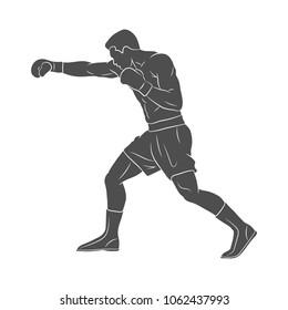 Boxer man, mixed martial arts fighter
