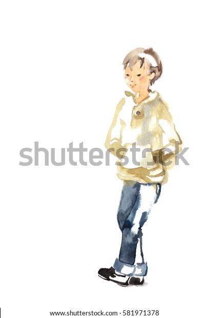 Boy of jeans