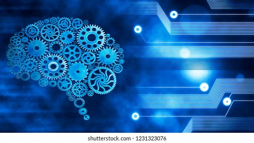 Brain build out of cogs Innovation with ideas and concepts,Training,business background