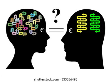 Brain Differences. Male brains and female brains function in different ways