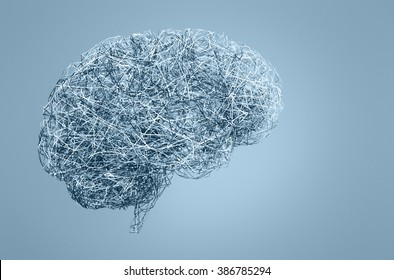 brain made of wires