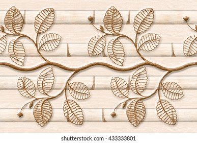 Branch Abstract Pattern Seamless