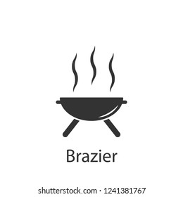 Brazier icon. Element of drink and food icon for mobile concept and web apps. Detailed Brazier icon can be used for web and mobile