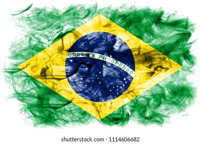 Brazil smoke flag