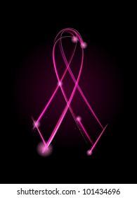 Breast Cancer ribbon - raster