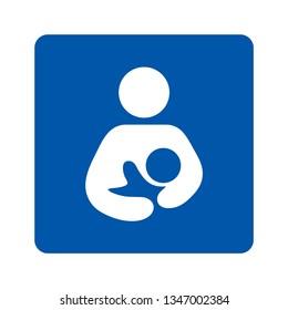 Breastfeeding sign pictogram