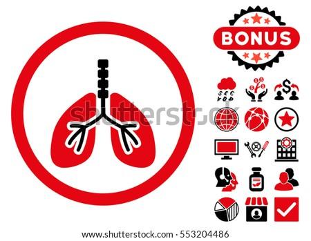 Breathe System Icon Bonus Symbols Glyph Stock Illustration Royalty