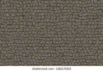 brick pavement background 3d illustration 40x29cm 300dpi