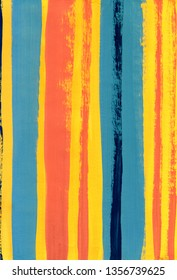 Bright Abstract Background with Colorful Stripes