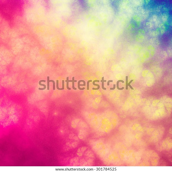 Bright Abstract Background Stylized Spray Paint Stock Illustration 301784525