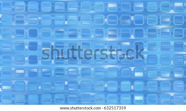 Bright abstract mosaic blue background with gloss. illustration beautiful.