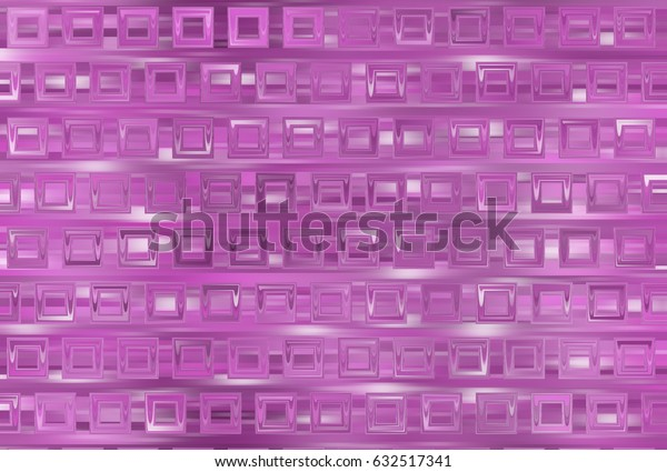 Bright abstract mosaic pink background with gloss. illustration beautiful.