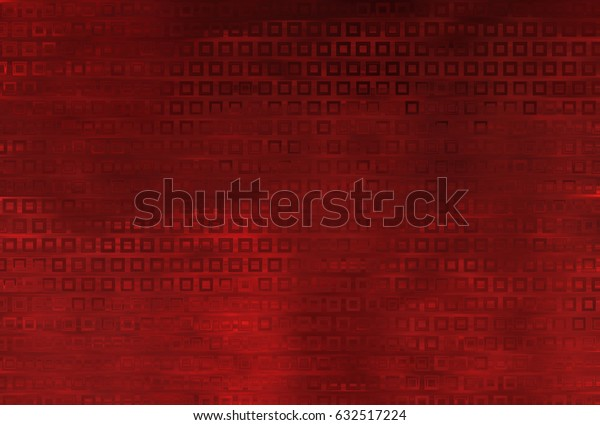 Bright abstract mosaic red background with gloss. illustration beautiful.