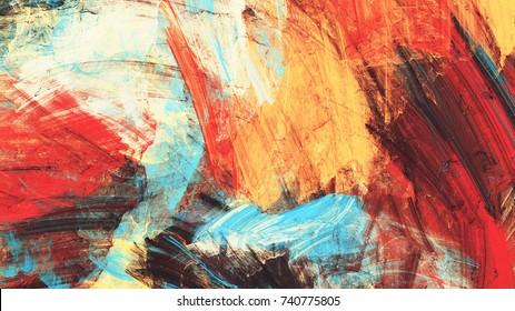 Helle künstlerische Gläser auf Weiß. Abstrakte Farbtextur. Modernes futuristisches Muster. Mehrfarbiger dynamischer Hintergrund. Fractal-Kunstwerke für kreatives Grafikdesign
