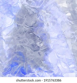 Bright background with a texture of water stains and marble. Digital illustration