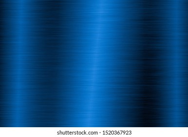 Bright blue metal technology background