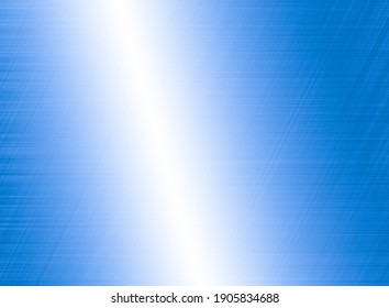 Bright blue metal texture background