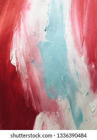 bright color abstraction with acrylics. beautiful background. modern Art. paint strokes