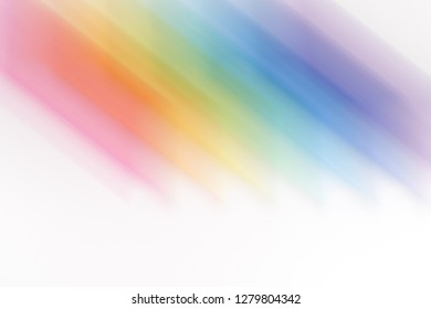 Bright colored blured brushstrokes as multicolored flashes for an abstract background.