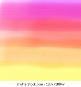 bright colorful stripes of digital watercolor paint in bold purple red pink orange and yellow with brush stroke texture