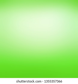 Bright dramatic lime green and white background with bright white center spot and bold neon green color border that grabs your attention