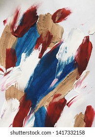 bright expressive multicolored abstraction in oil on canvas. beautiful background. modern Art
