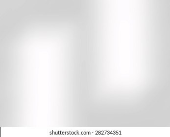 Bright gray background abstract with reflection