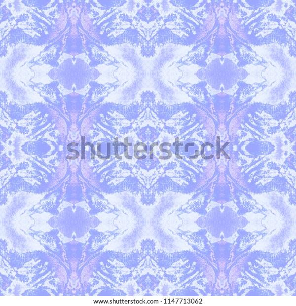 Bright kaleidoscopic pattern. Shibori print. Batik tie-dye. Watercolor abstract repeat for fabric, furniture, cloth print, interior design.