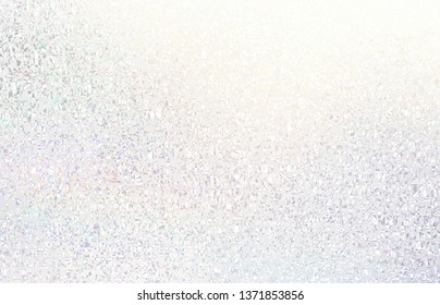 Bright light subtle background. Frosty glass abstract texture. White pearl iridescent pattern. Shimmer decoration. Clean blank backdrop.
