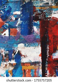 bright multi-colored acrylic abstraction. beautiful background. modern Art