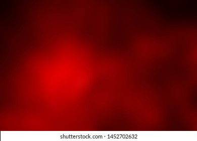 Bright red background with blur. Abstract texture.