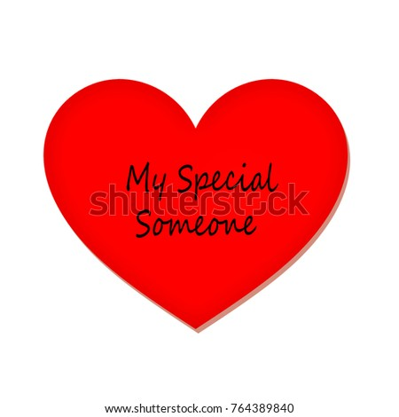 to my special someone